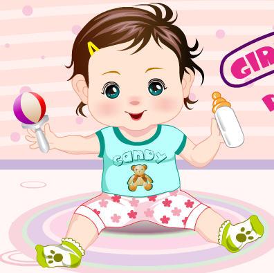 Игра Одень малыша