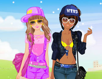 Игра Барби и подружка