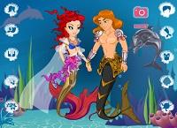 Игра Свадьба под водой