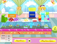 Игра Витрина с конфетами