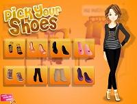 Игра Дизайн обуви для Сары
