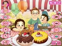 Игра Дети и пончики