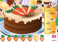Игра Морковынй торт
