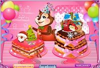 Игра Рождественский торт шеф-повара