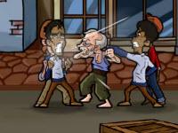 Игра Кунг-фу дедушка
