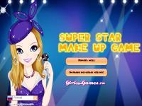 Игра Макияж для суперзвезды