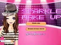 Игра Блестящий макияж