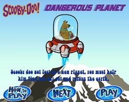 Игра Скуби Ду опасная планета