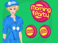 Игра Утренняя вечеринка Барби