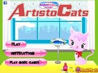 Игра Коты-аристократы