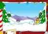 Игра В Спрингфилде снежный бой