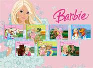 Игра Барби коллекция пазлов
