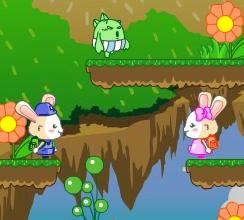 Игра Кролики и пузыри