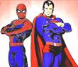 Игра Человек Паук и Супермен
