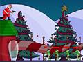 Игра Санта отстреливает зомби