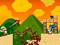 Игра Марио бомбардировщик зомби