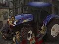 Игра Трактор зомби