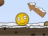 Игра Забавный жёлтый шарик