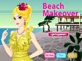 Игра Пляжный макияж