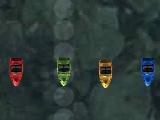 Игра Гонки на мини катерах