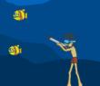 Игра Подводная рыбалка