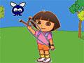 Игра Даша убивает жуков