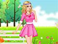 Игра Солнечная праздничная девочка