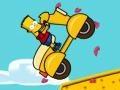 Игра Барт байк Развлечение