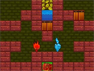 Игра Огонь и вода: защита сокровищ