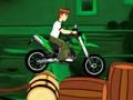 Игра Бен 10 езда на мотоцикле