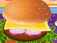 Игра Приготовление гамбургера