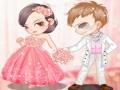 Игра Розовые свадебные наряды