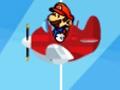 Игра Марио самолёт Бомбардировщик
