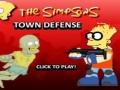Игра Симпсоны оборона города