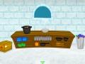 Игра Надо бежать из ледяного замка