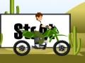 Игра Бен 10 поездки на велосипеде 3