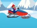 Игра Марио и снегоход