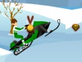 Игра Бен 10 снежный байкер