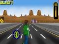 Игра Бен 10 скейтбординг на шоссе