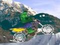 Игра Халк Снежная поездка