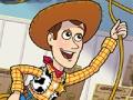 Игра История игрушек, спасение Вуди