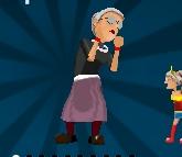 Игра Бешеная бабушка