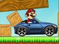 Игра Бомбардировка автомобиля Марио