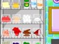 Игра Блюда Таши креветки в соусе альфредо