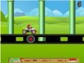 Игра Марио на мини машине
