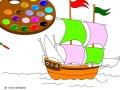 Игра Корабль в море
