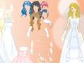 Игра Одевалка белые платья