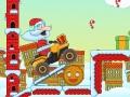 Игра Велогонщик Санта