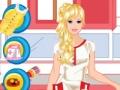 Игра Барби работает в ветеринарной клинике