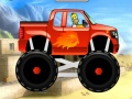 Гомер едет на грузовике